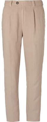 Brunello Cucinelli Linen Trousers