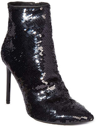 Alice + Olivia Celyn Sequined Ankle Booties