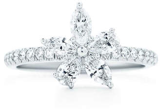 Tiffany & Co. Victoria® mixed cluster ring