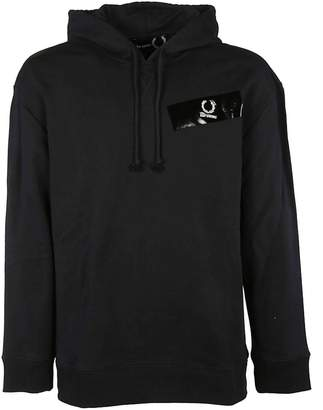 Fred Perry Raf Simons Taped Detail Hoodie