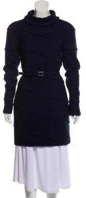 Chanel Fringe-Trimmed Long Sleeve Dress w/ Tags