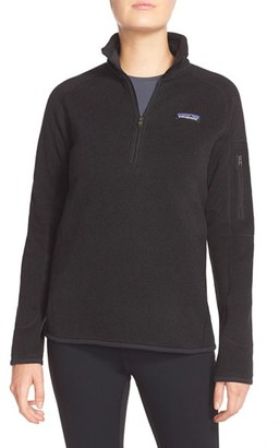 Women's Patagonia 'Better Sweater' Zip Pullover $99 thestylecure.com