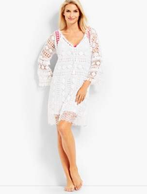 Talbots Allover Lace Cover-Up