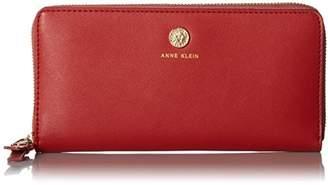 Anne Klein Slim Zip Around Wallet