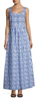 Vineyard Vines Striped Cotton Gown $168 thestylecure.com