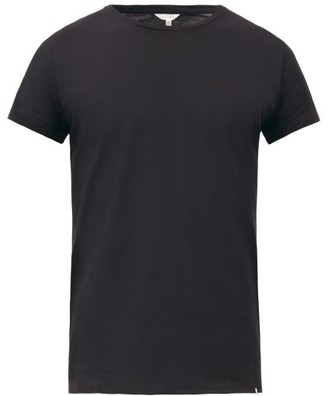 Orlebar Brown Ob T Cotton Jersey T Shirt - Mens - Black