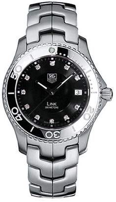 Tag Heuer Men's WJ1113.BA0575 Link Diamond Accented Quartz Bracelet Watch