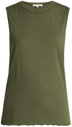Nili Lotan Muscle sleeveless cotton-jersey tank top