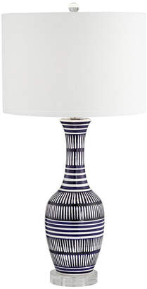 Pacific Coast Ceramic Lamp With Crystal Base Table