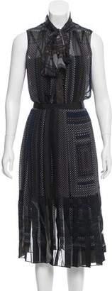 Sacai Sleeveless Midi Dress w/ Tags