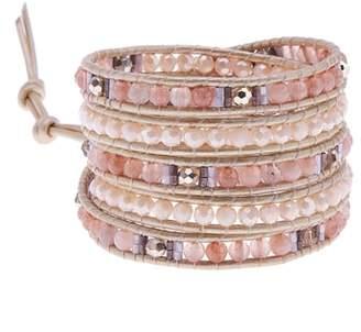 Nakamol Design Beaded Wrap Bracelet