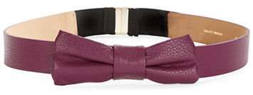 Kate SpadeKate Spade New York Bow-Accented Leather Belt