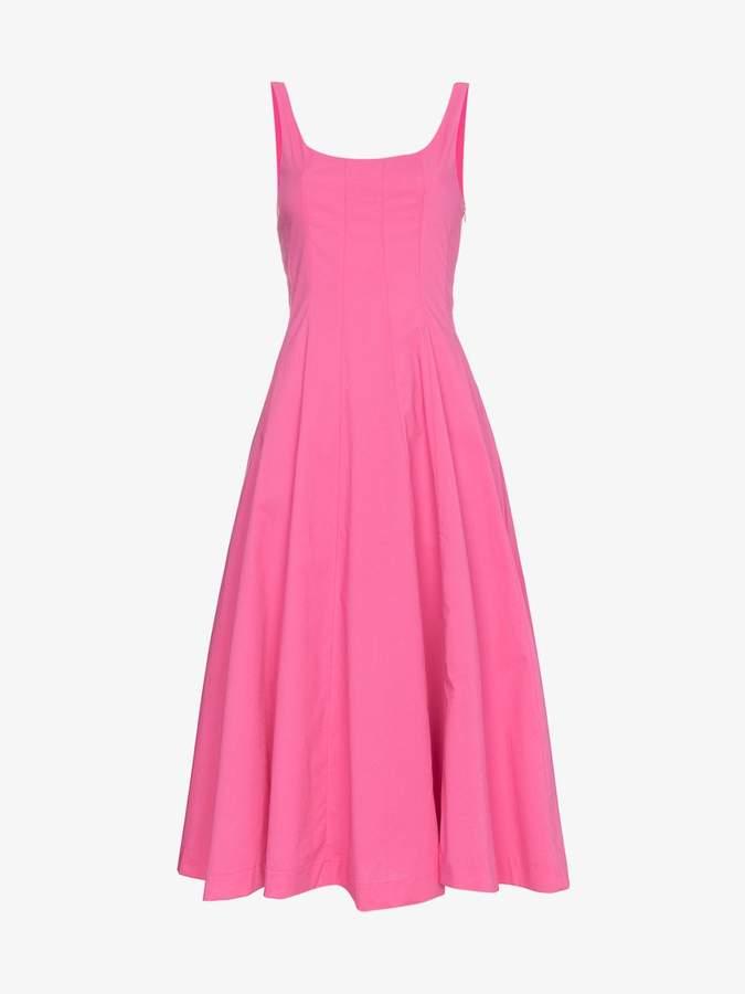 Staud Pink Wells dress