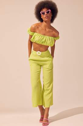 Solid & Striped Solid Striped Palazzo Pant