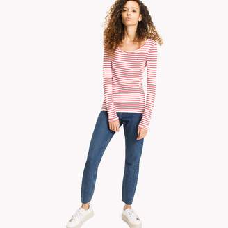 Tommy Hilfiger Long-Sleeve Ribbed Tee