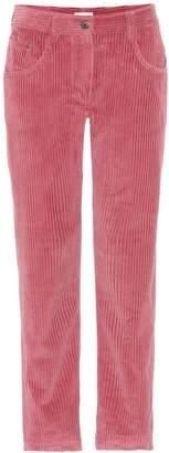 Brunello Cucinelli Corduroy straight-leg pants