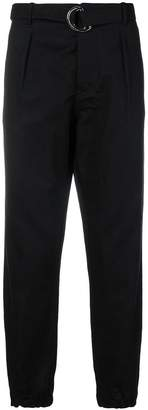 Low Brand cropped tapered trousers