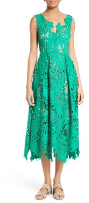 Women's Tracy Reese Leaf Lace Frock $348 thestylecure.com