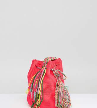 Jardin Del Cielo Bright Pink Mochilla Bag