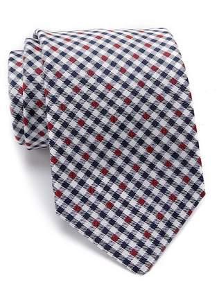 Tommy Hilfiger Silk Twisted XL Gingham Tie