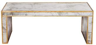 Worlds Away Antique-Style Mirror Coffee Table
