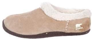 Sorel Suede Slip-On Sneakers