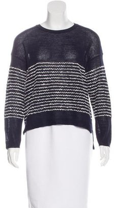 Inhabit Wool-Blend Striped Sweater $85 thestylecure.com