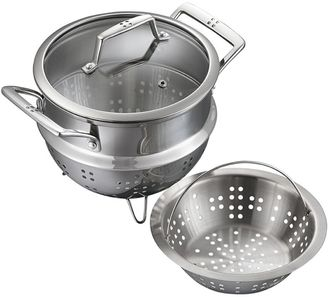 Baccarat Pete Evans Pete Evans Stainless Steel 2-Piece Steamer with Lid, 20cm