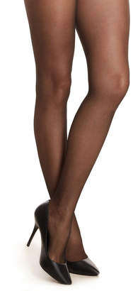 Berkshire Sexyhose Black Lace Waist Tights