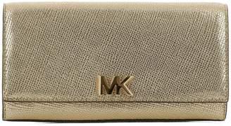 Michael Kors Gold Leather Pochette