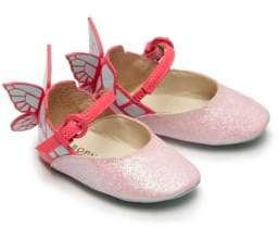 Sophia Webster Baby's Chiara Mini Butterfly Glitter Mary Janes