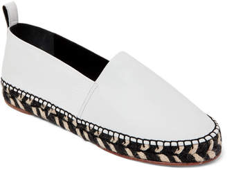Proenza Schouler White Leather Espadrille Sandals