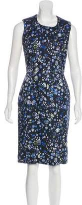 Preen by Thornton Bregazzi Printed Sheath Dress