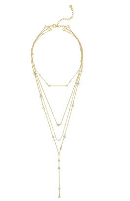 Harlow Layered Necklace Set $42 thestylecure.com