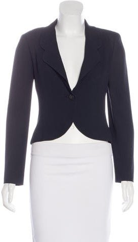 Chanel Chanel Structured Crepe Blazer