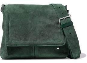 Halston Suede Shoulder Bag