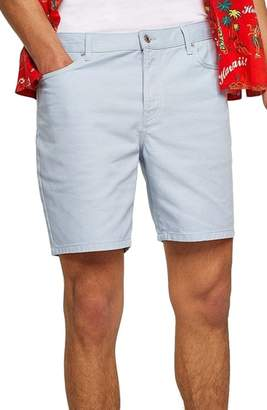 Topman Slim Fit Denim Shorts