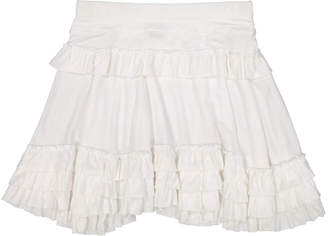 E-Land Girls' Tiered Skirt