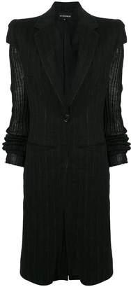 Ann Demeulemeester single button coat