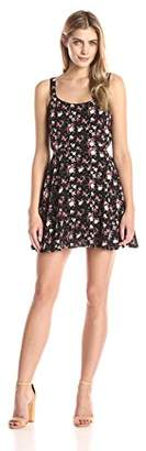 Lucca Couture Women's Floral Printed Sleeveless Easy Dress $54.99 thestylecure.com