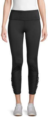Nanette Lepore Moto Lace Leggings