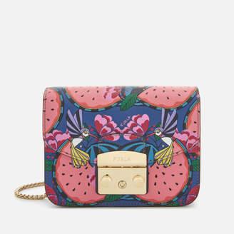 Furla Women's Metropolis Mini Cross Body Bag - Watermelon
