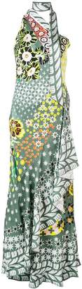 Temperley London Claudette one shoulder dress