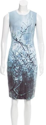 Elie Tahari Graphic Print Knee-Length Dress w/ Tags $145 thestylecure.com