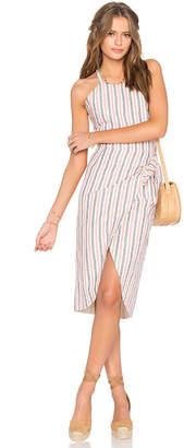 Privacy Please Nassau Wrap Dress