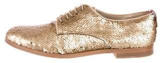 AGL Sequined Metallic Oxfords