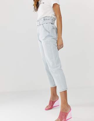 Miss Sixty belted high waist jean