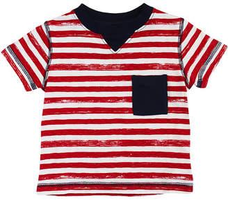 Coccoli Stripes Crewneck T-Shirt