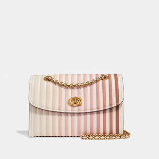 Coach Parker Shoulder Bag With Ombre Quilting