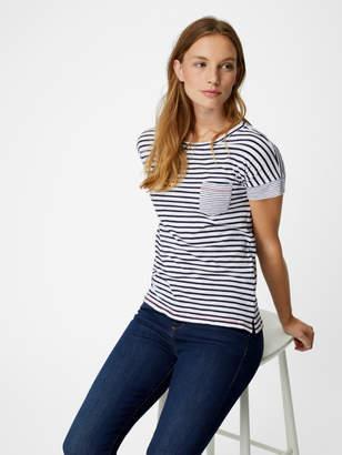 White Stuff Summer Stripe Jersey Tee